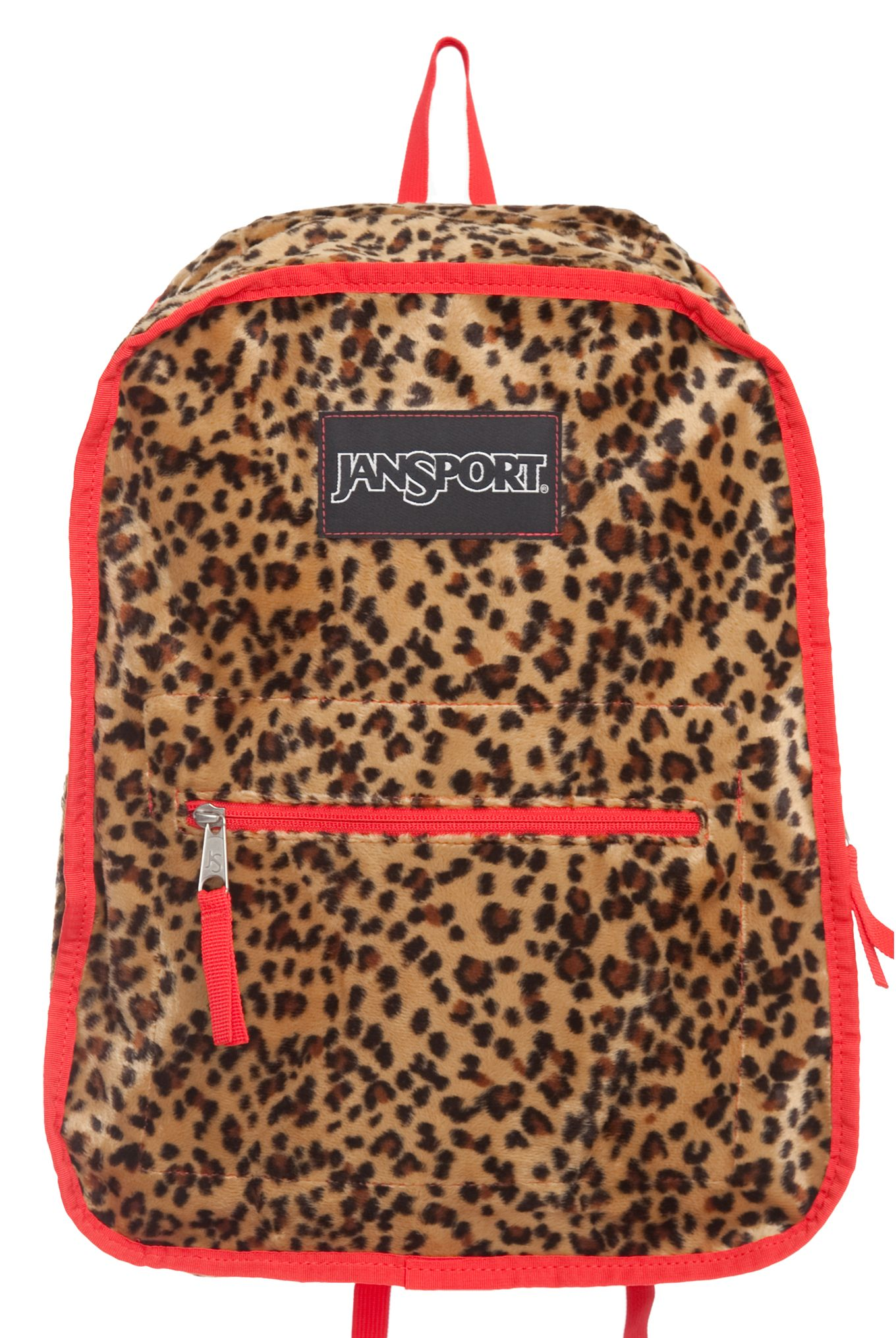 """This+Jansport+backpack+is+reversible+for+a+""""mild+and+wild""""+color+option+and+features+straight-cut,+padded+shoulder+straps+with+detachable+swivel+hooks+for+reversing,+one+large+main+compartment,+front+utility+pocket+and+internal+stash+pocket."""