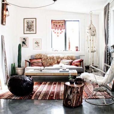 muebles y decoracin boho chic