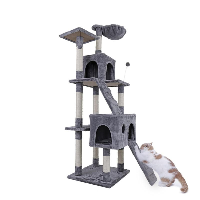 Domestic Delivery Cat Tree Pet furniture, Cat activity