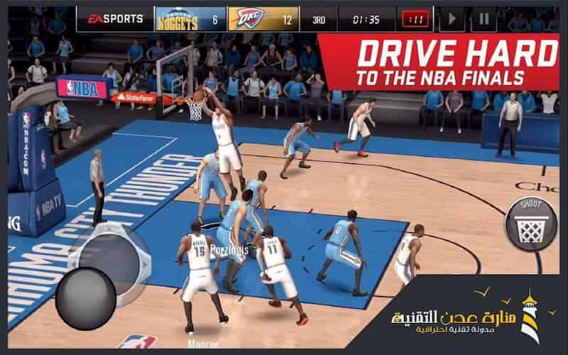 افضل 7 العاب كرة السلة المجانية للاندرويد Nba Live Nba Live Mobile Hack Basketball