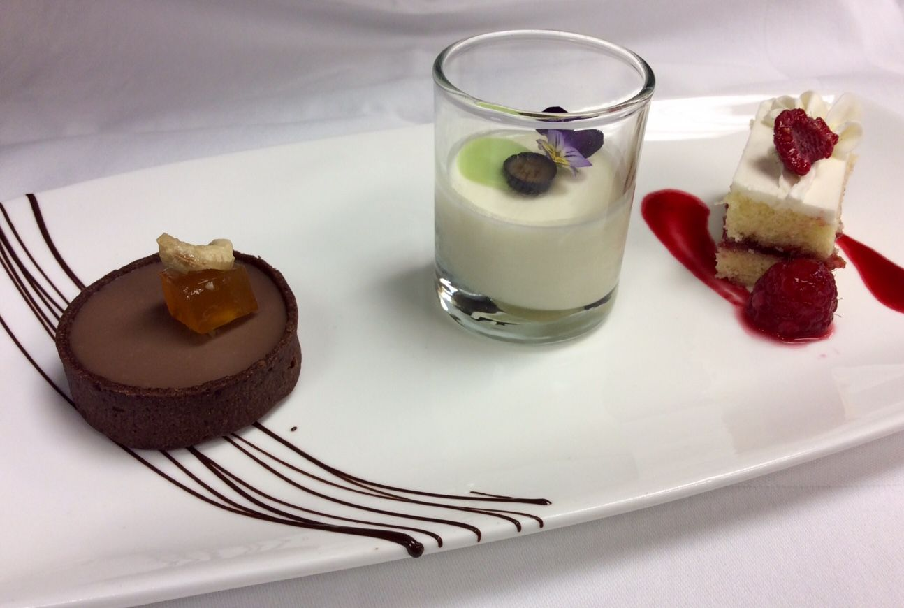 Fairview Dining Room New Enjoy This Trio Of Desserts For Lunch And Dinner During Triangle Design Inspiration