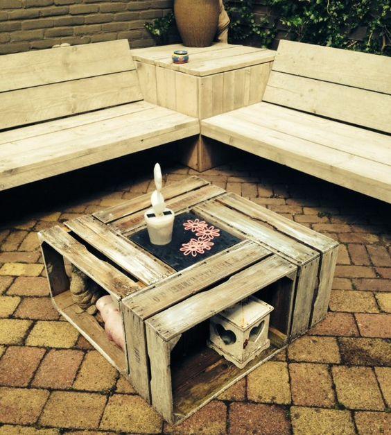 Das tolle Wetter steht vor der Türe, also raus in den Garten! 10 - gartenmobel selber bauen anleitung
