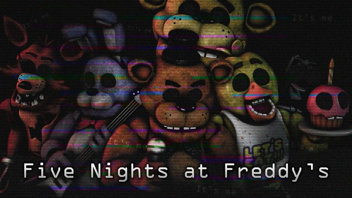 FNaF1 wallpaper by AftonProduction Fnaf, Five nights at