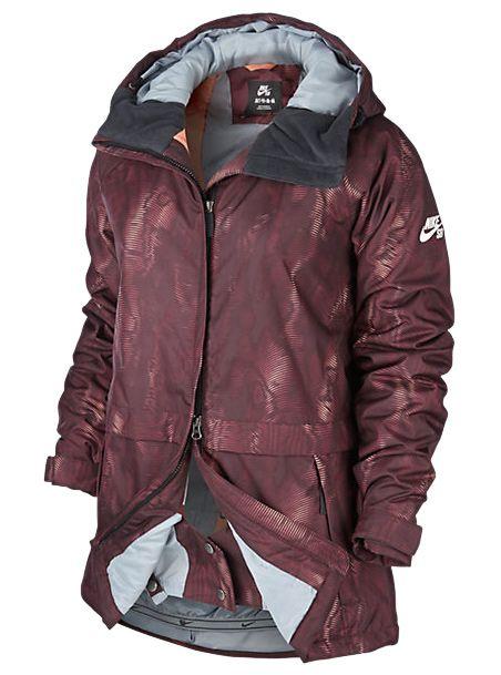 Nike Sb Print Snowboard Lustre Jacket Women's RqgRzxZ