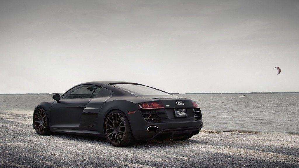 Black Audi R8 Hd Wallpaper 1080p Black Audi Audi R8 Matte Black