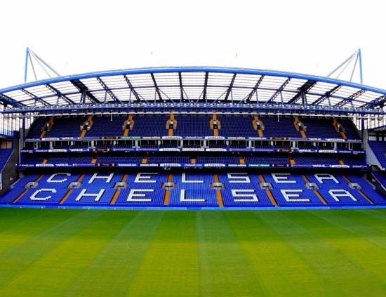 Football is my religion and Stamford Bridge is my church.