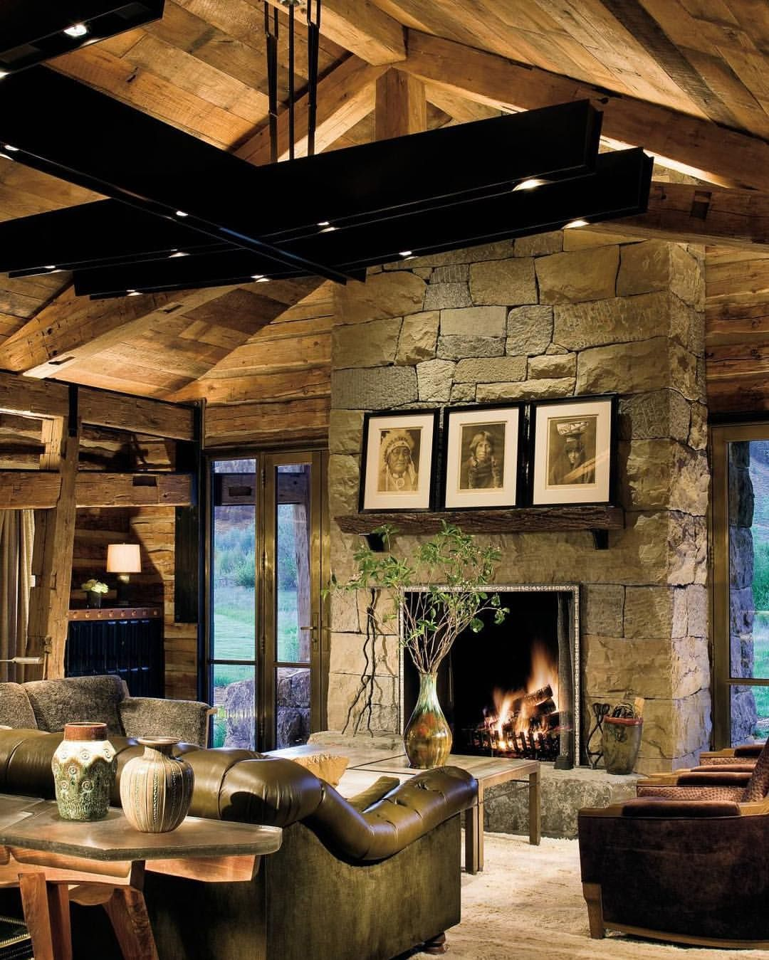 16 Sophisticated Rustic Living Room Designs You Won T Turn: Lighting 5,126 Likes, 20 Comments