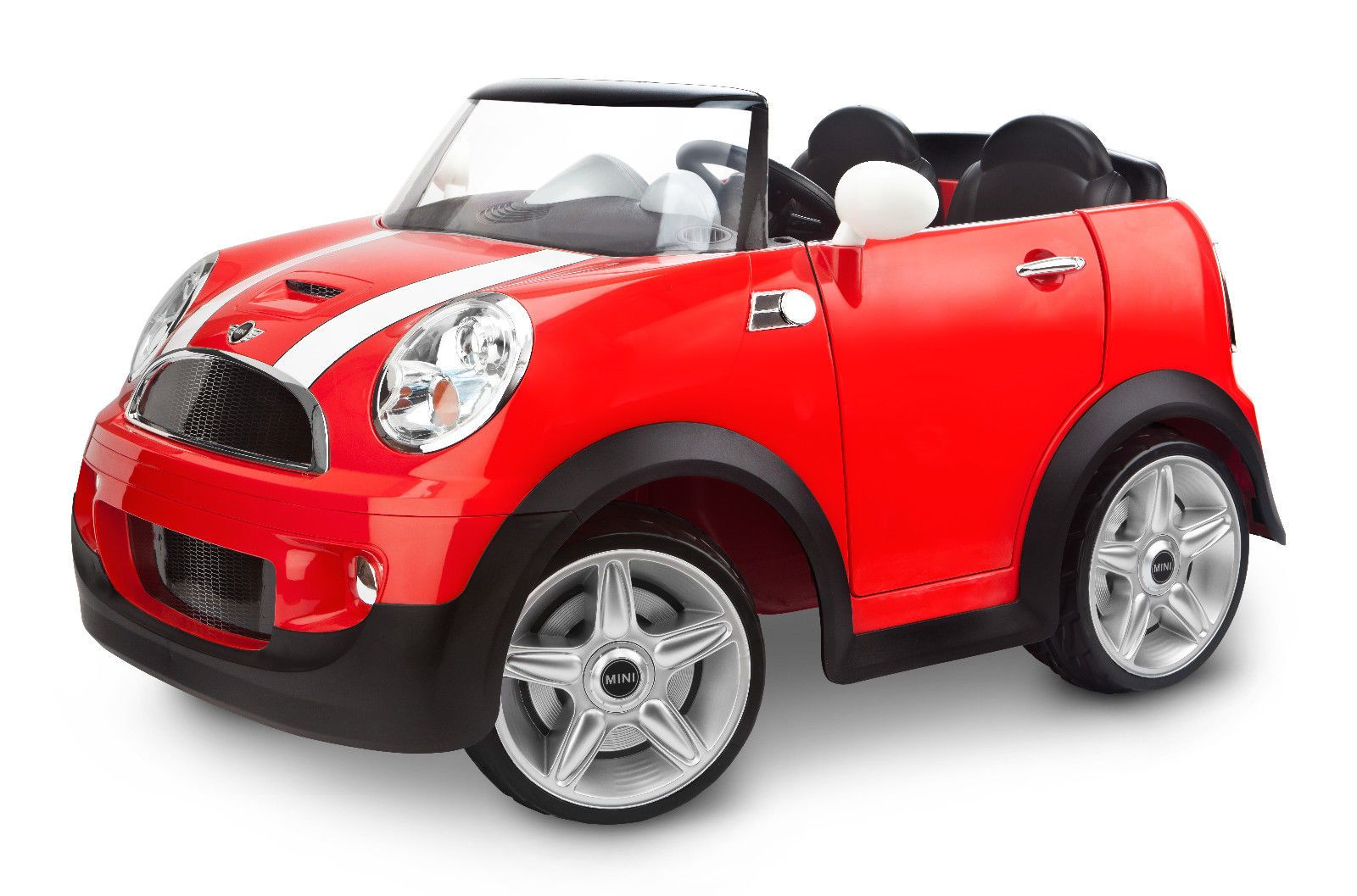 Kid Trax 12v Mini Cooper Ride On Two Seater Red