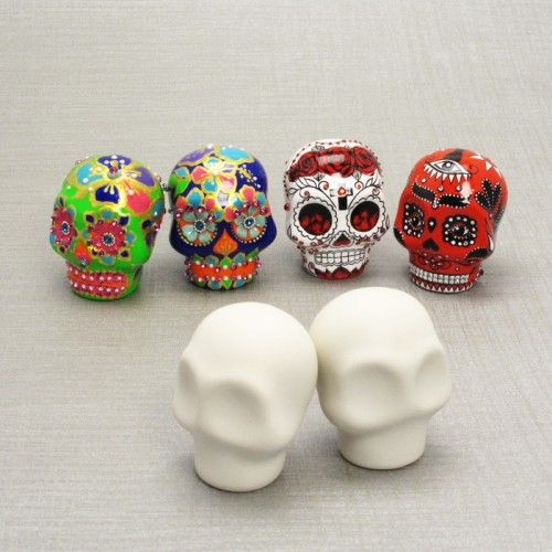 Cute Skull Project Diy Crafts How To Make Skull Crafts Clay Crafts