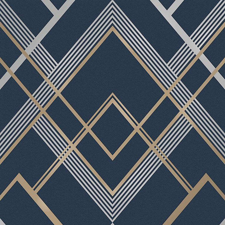Pin by tanya on my bedroom in 2020 Blue geometric
