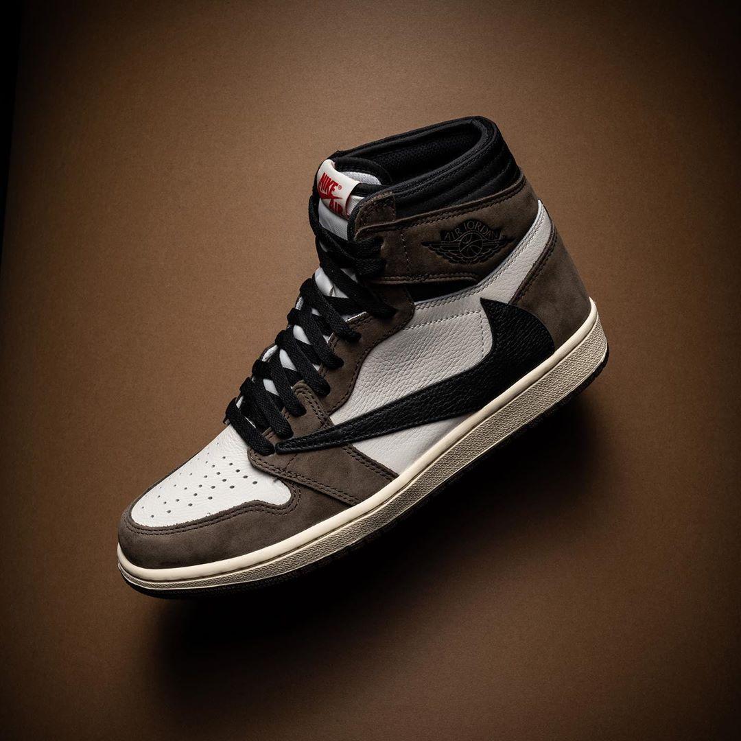reverse. The Travis Scott x Air Jordan