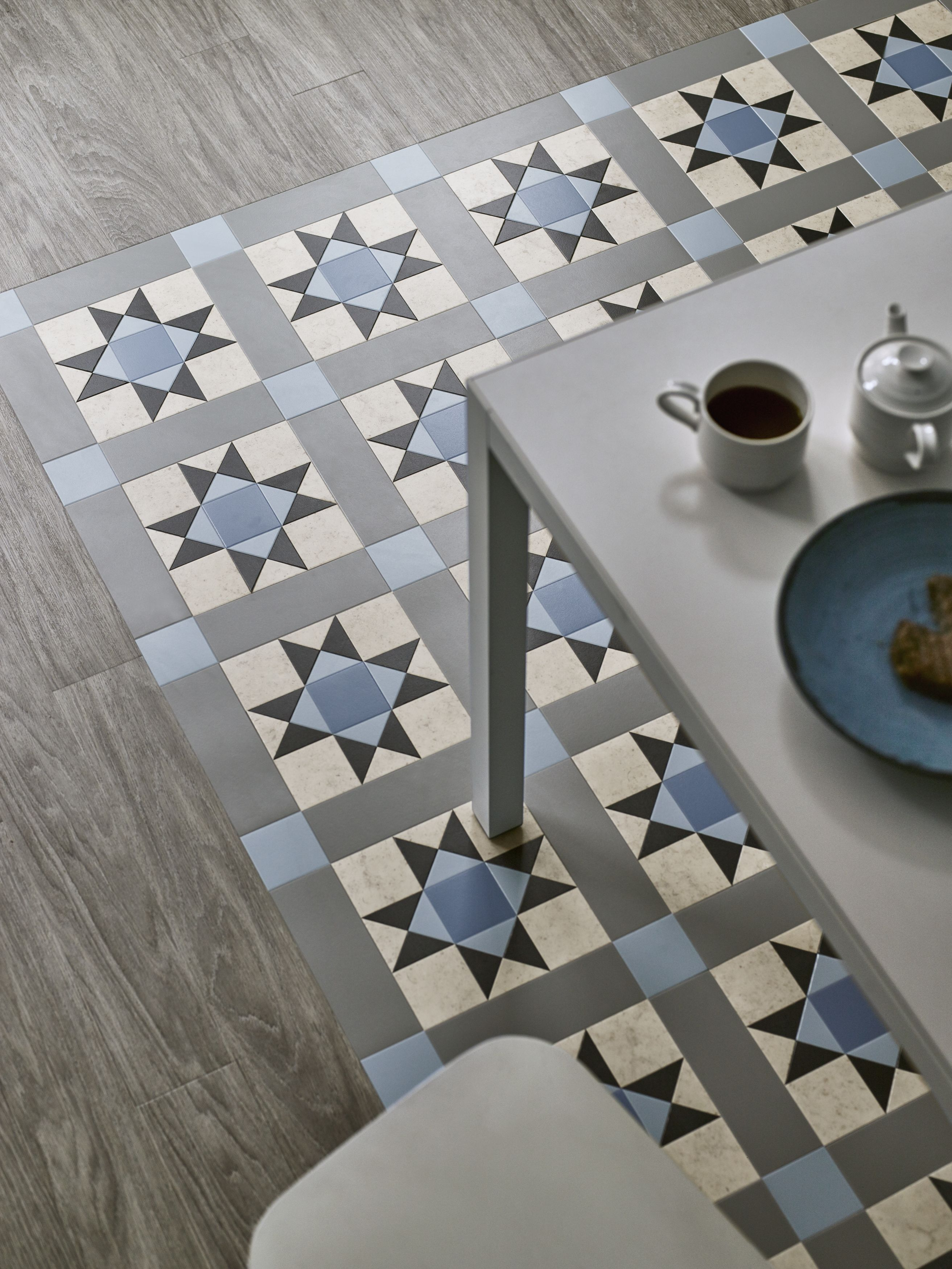 Corona Azure from Amtico Decor #interiors #interiordesign #amtico