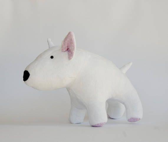 Bull Terrier, Bull Terrier Lover Gift, Bull Terrier Toy, Bull ...
