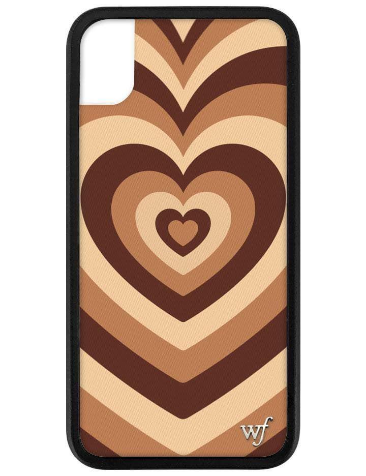 Latte love iphone xr case in 2020 wildflower cases