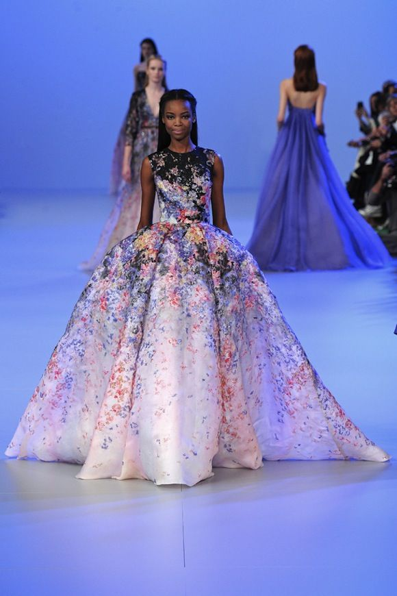 Fashion Friday: Elie Saab Haute Couture Spring 2015 | Moda chic y ...