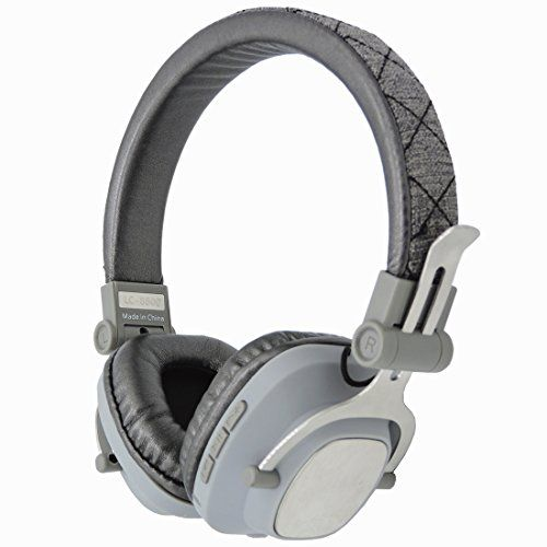 Wthalia Wireless Bluetooth Headphones Over Ear On Head Folding Bluetooth Stereo Headsetsgray With Images Bluetooth Headphones Wireless Headphones Audiophile Headphones