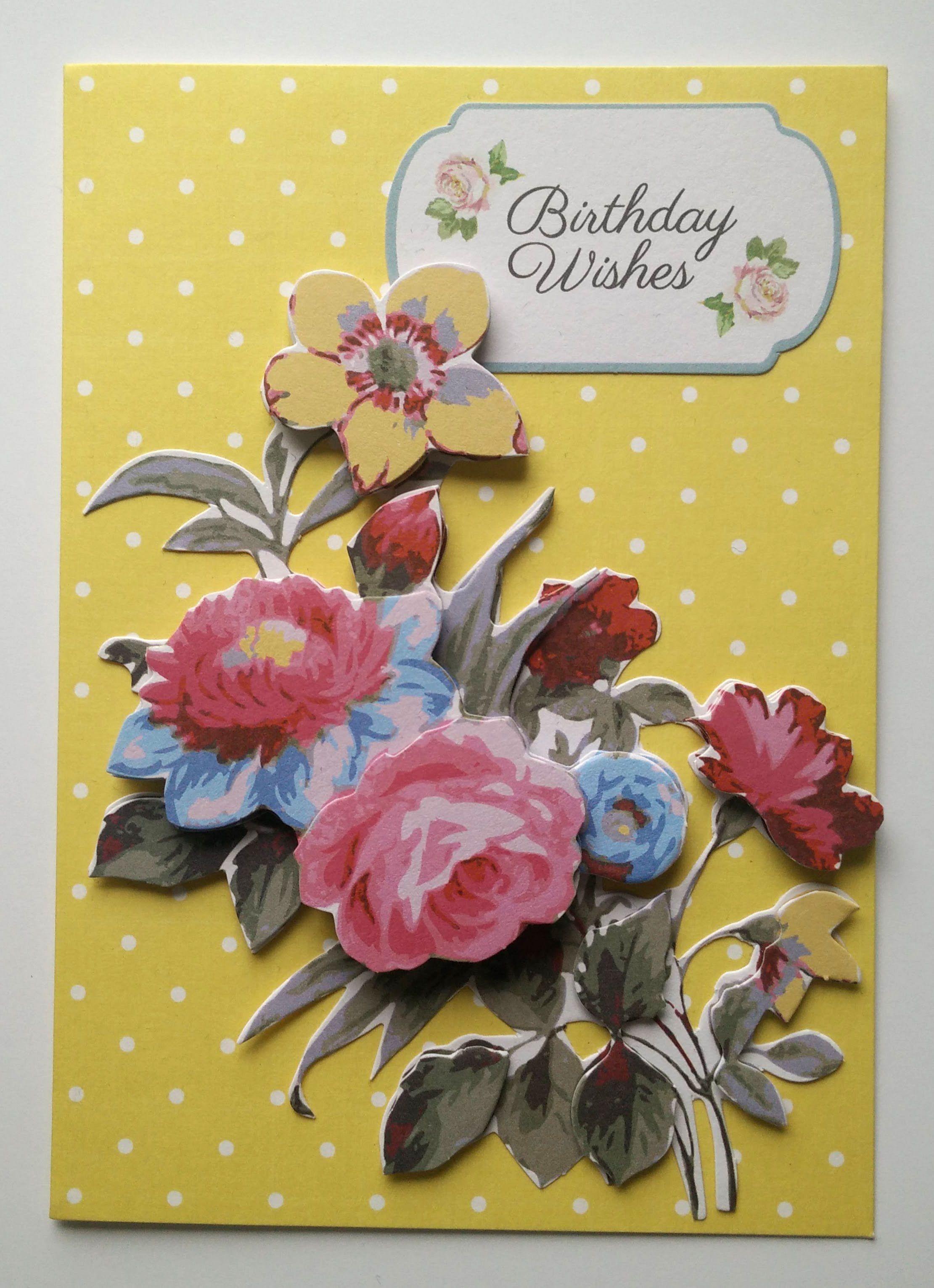 Syntymäpäivä Kukka