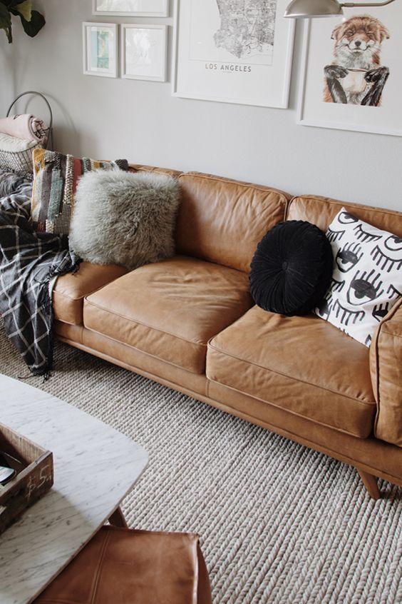 Timber Charme Tan Sofa Living Room Design Inspiration Home Living Room Comfortable Sectional Sofa