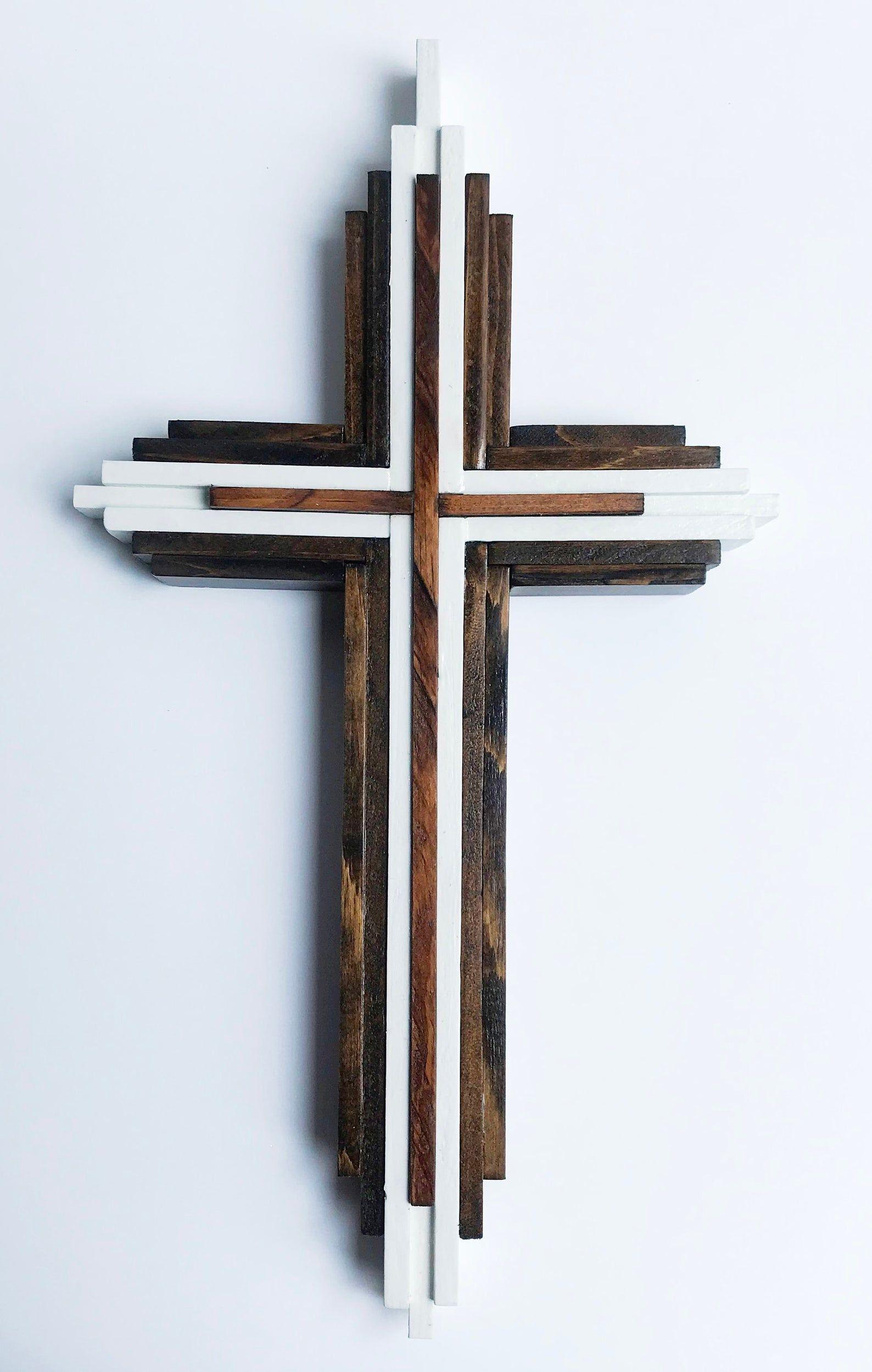 Cross Crucifix Handmade Wood Cross Wooden Crucifix
