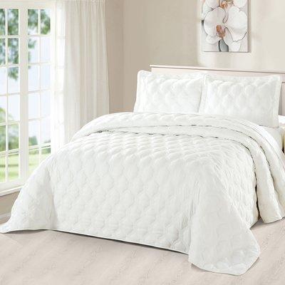 Serenta Bradly 3 Piece Quilt Set Bed Spreads Quilt Sets