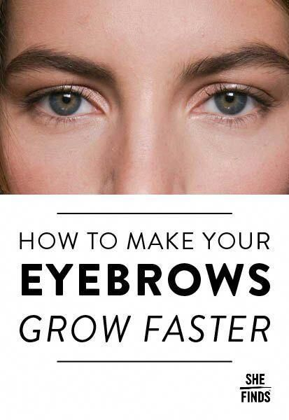 How to make your eyebrows grow faster #EyeMakeupHowToDo in ...
