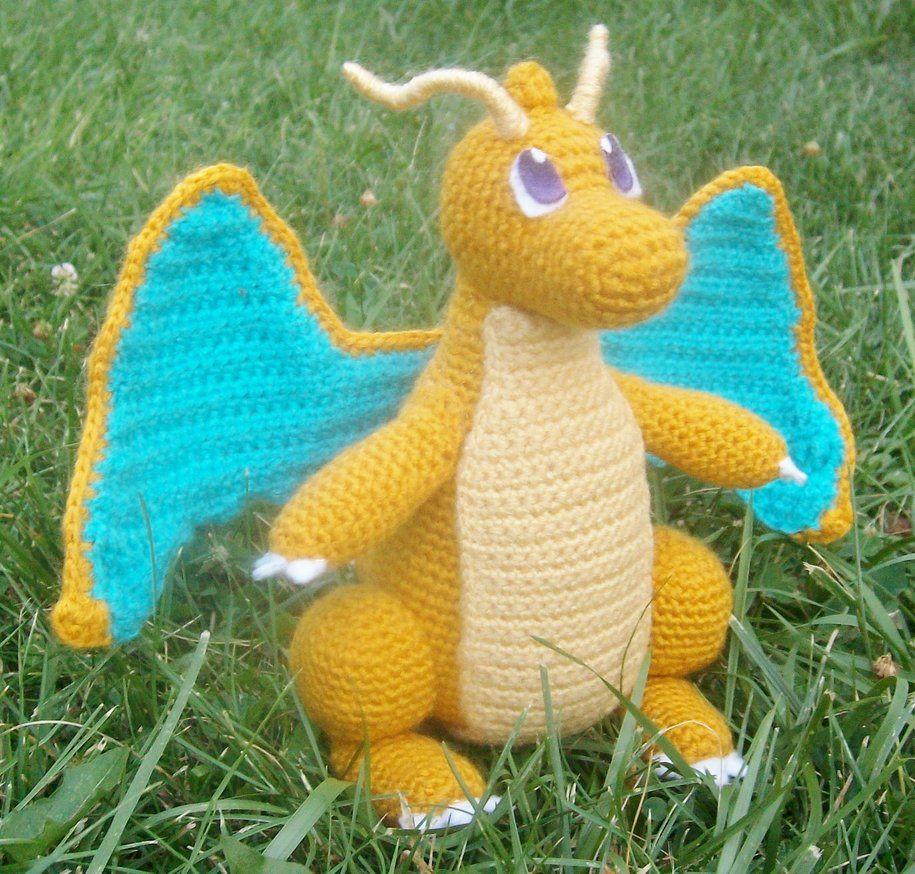 149 Dragonite Amigurumi by LilDezzi | crochet | Pinterest | Drachen ...