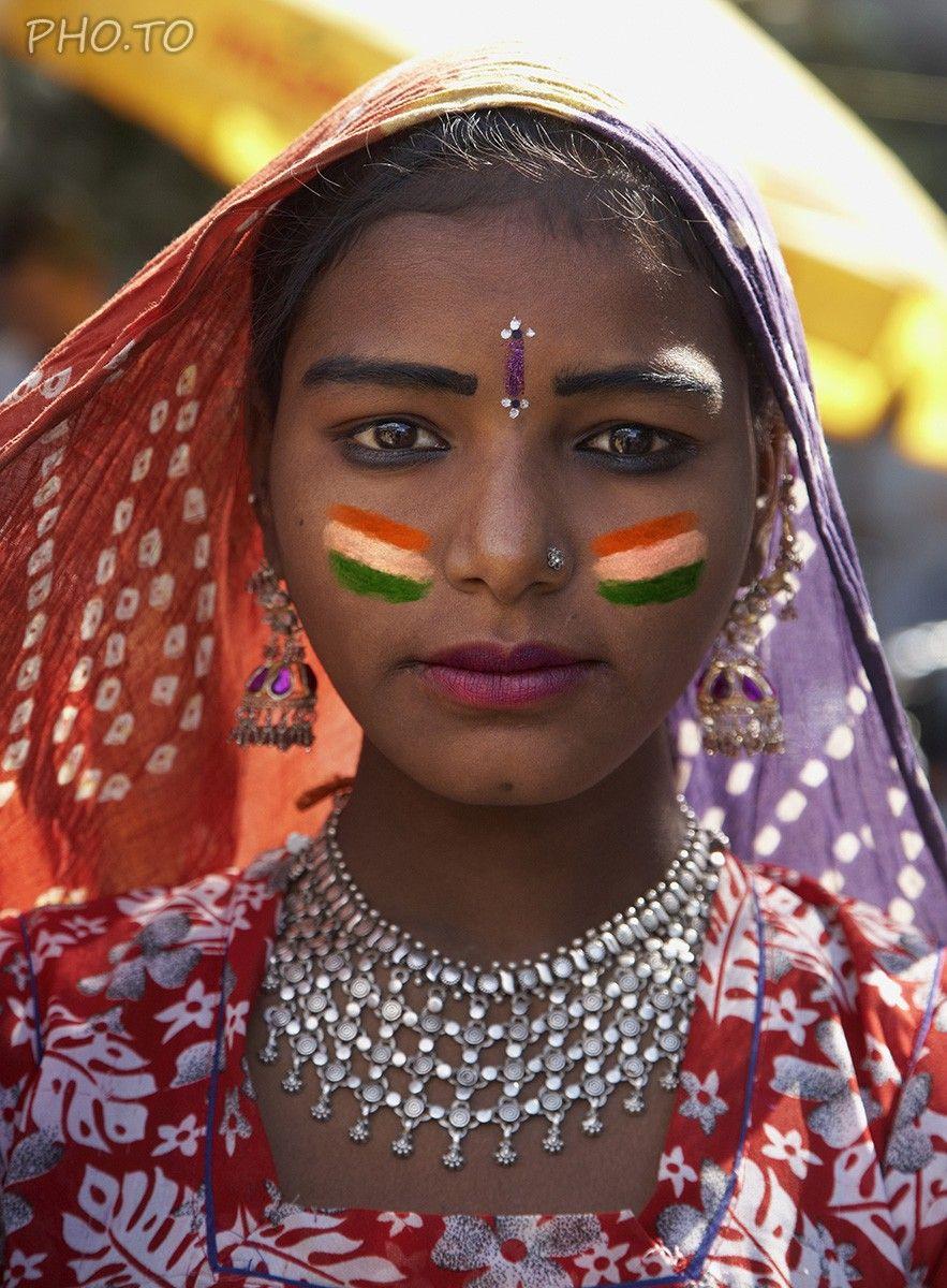 Idea Of Indian Face Paint Making Profile Pic Portrait Orients' Faces