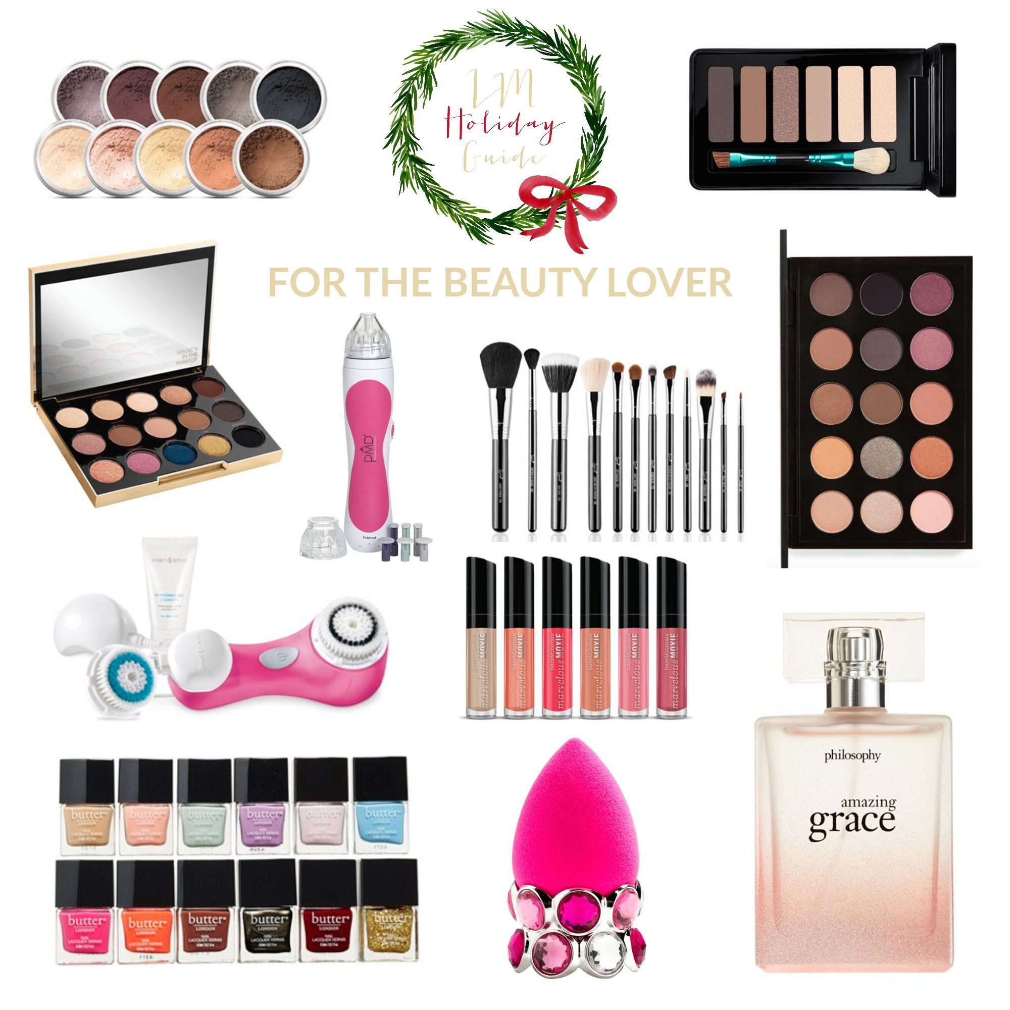 Holiday Gift Guide // For The Beauty Lover | Christmas gift guide ...