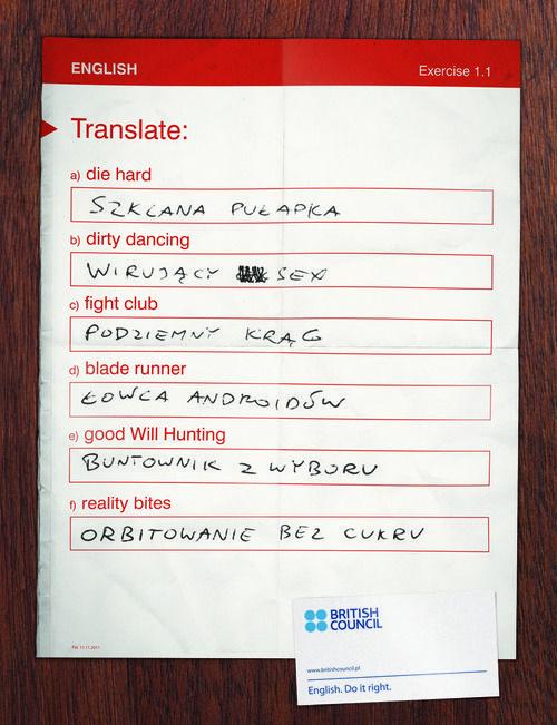 British Council - titles