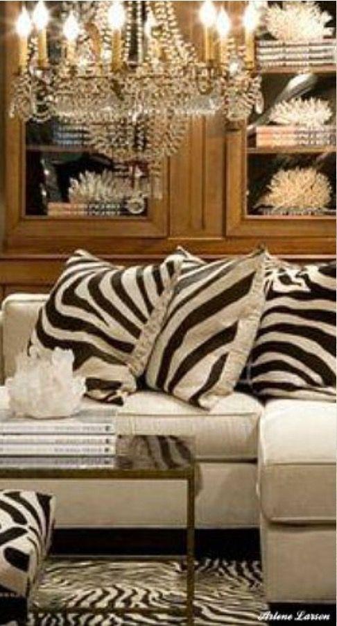 Nice Modern African Home Decor Interior Living Room Decor #zebra #decor #for #living #room
