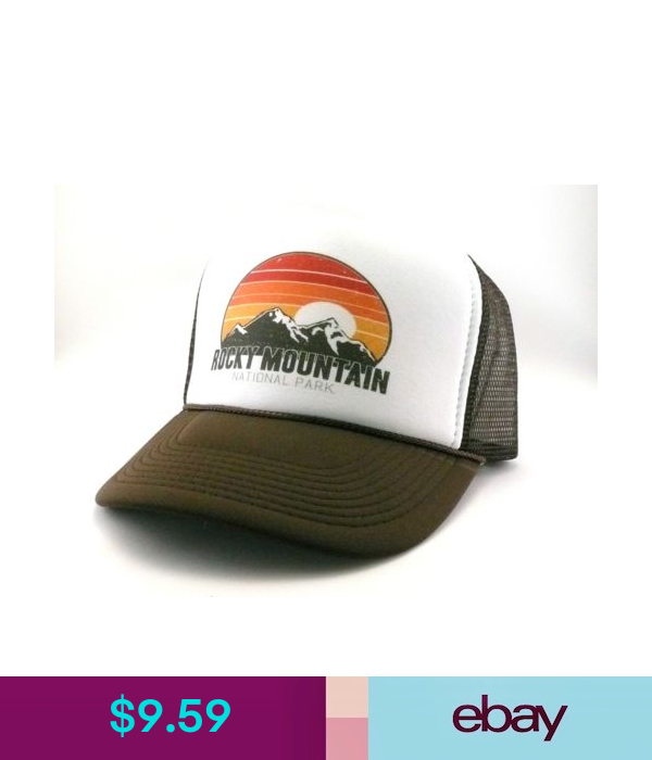 Rocky Mountain National Park Colorado Trucker Hat Mesh Hat