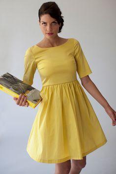 a49cff3c2d85 klänning gul - Sök på Google | Bröllop Maria in 2019 | Klänningar ...