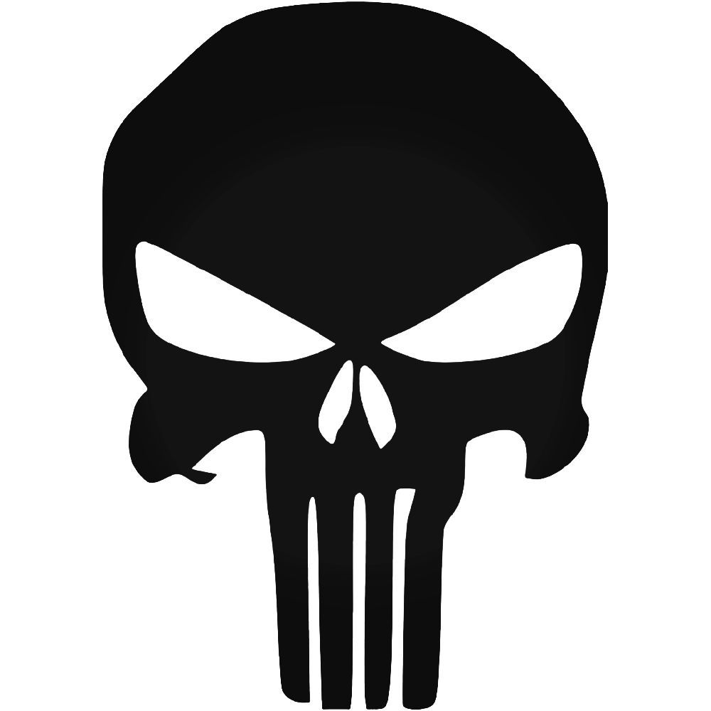 Punisher Logo Original Vinyl Decal Sticker in 2019