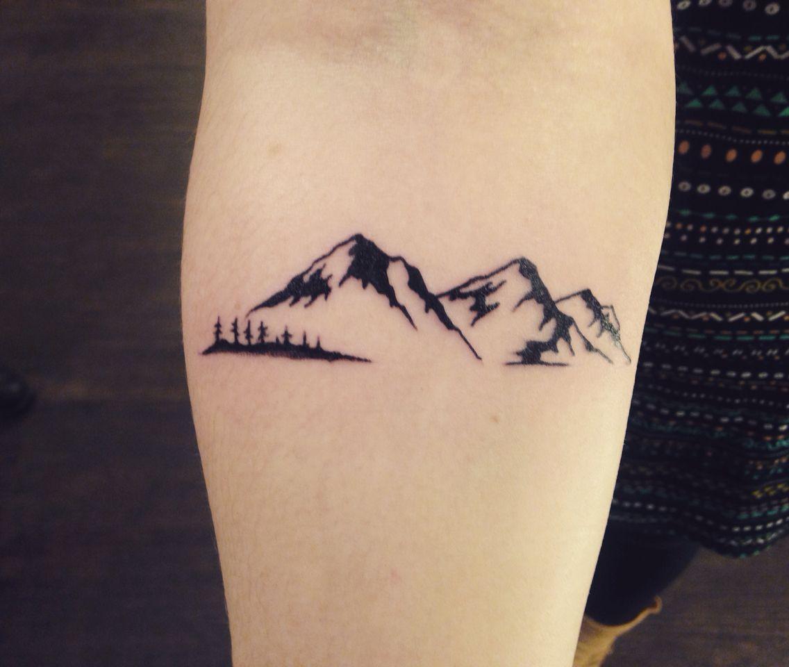 Mountain Tattoo Cool Forearm Tattoos Tattoos For Guys Small