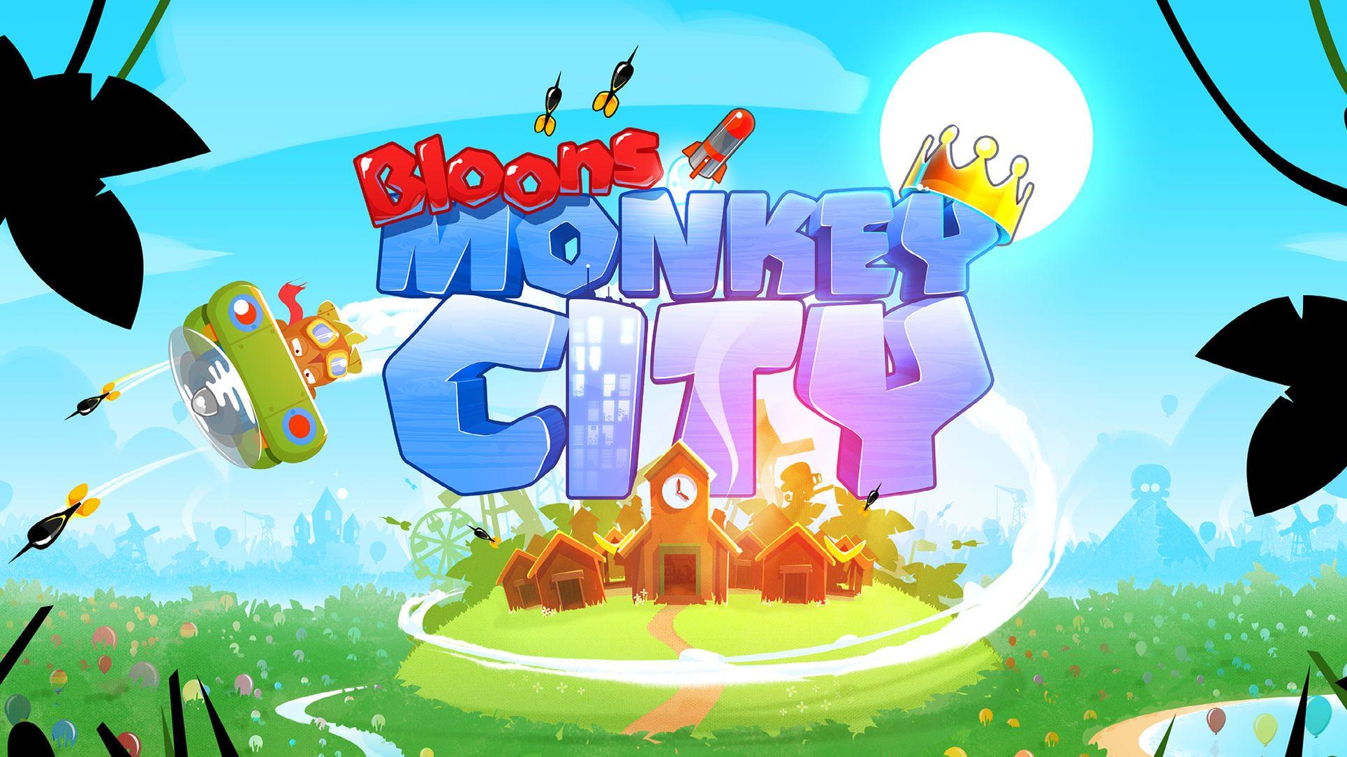 Bloons monkey city simulationgamesentertainmentios