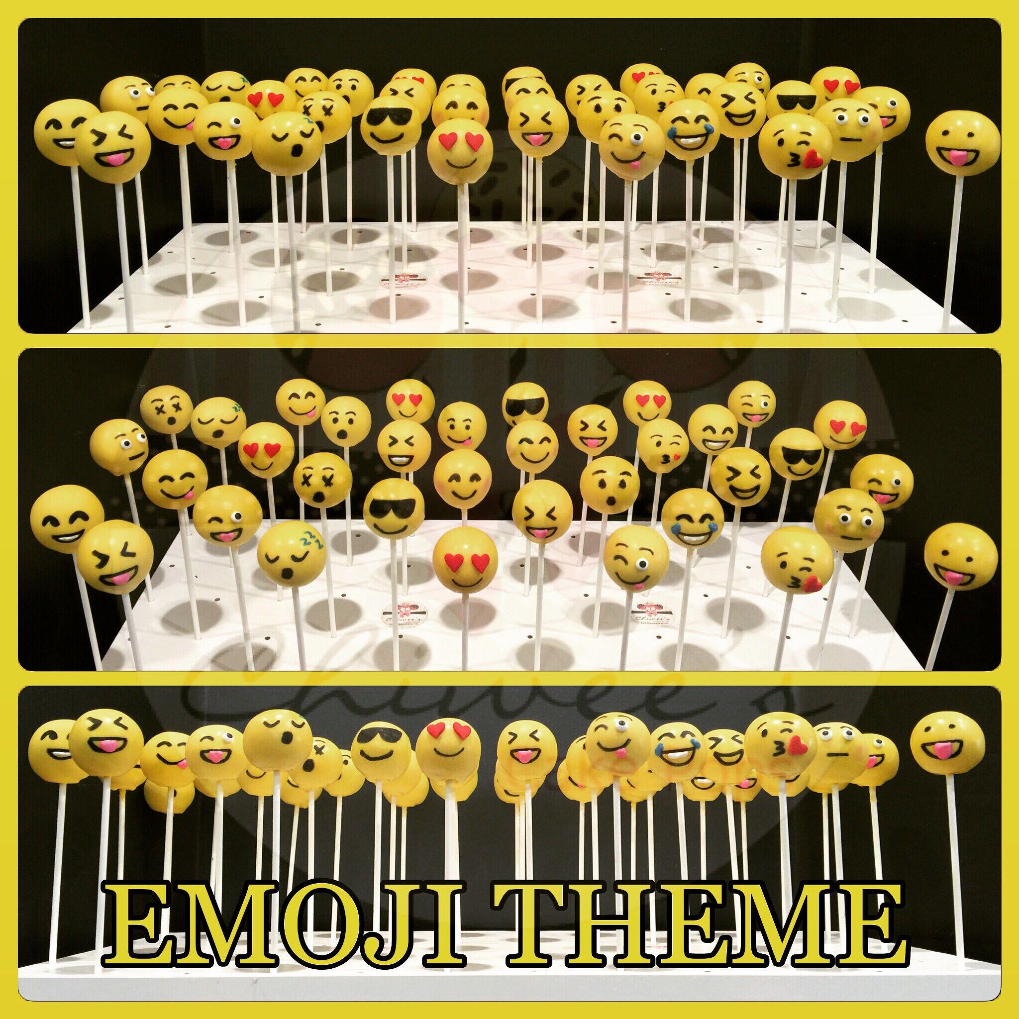 Emoji cake pops cake pops cakepops chiwee s creations kuchen geburtstag - Cake pops 50 geburtstag ...