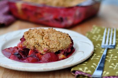 This simple gluten-free oatmeal cobbler is also refined sugar-free and vegan, though you can use butter if you like. I make it with Italian...