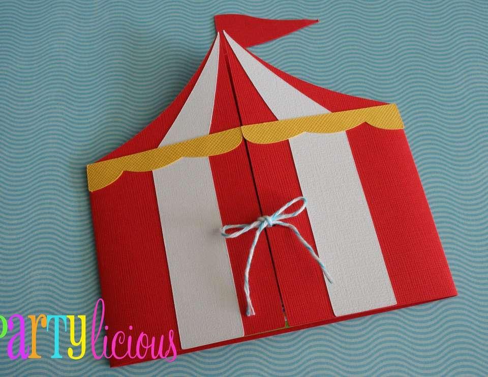 Circus Birthday Quotcircus Spectacularquot Cirque