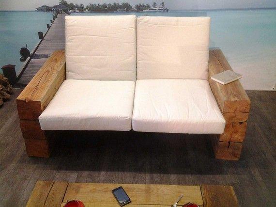 fauteuil double poutre ch ne massif mobilier bois massif pinterest armoires and interiors. Black Bedroom Furniture Sets. Home Design Ideas