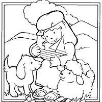 Dibujos De La Biblia Para Colorear E Imprimir Para