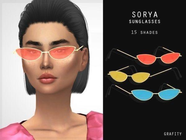 Sorya Sunglasses - The Sims 4 Download - SimsDom RU ...