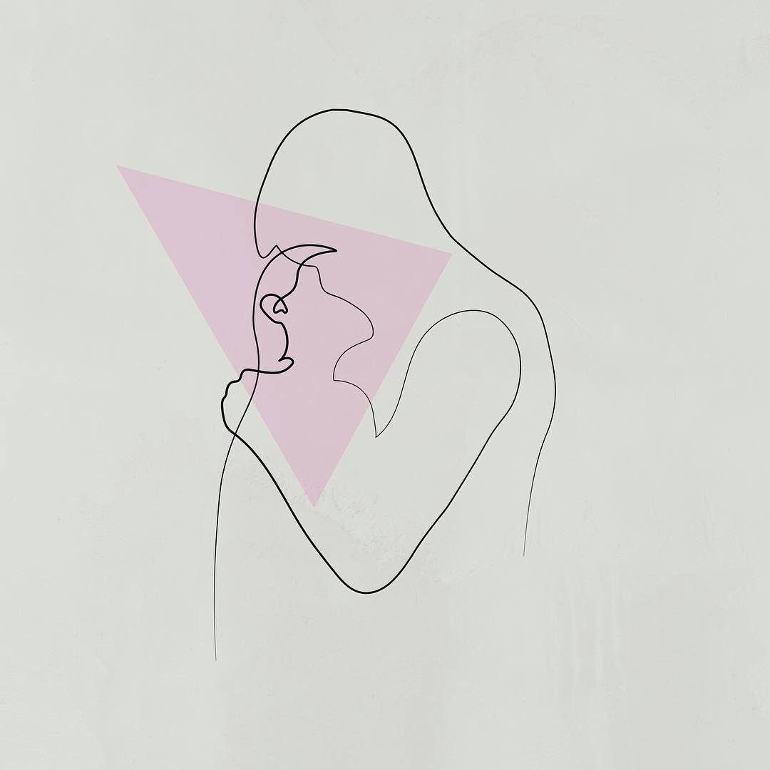 рисунки для пары минимализм избегать пёстрых