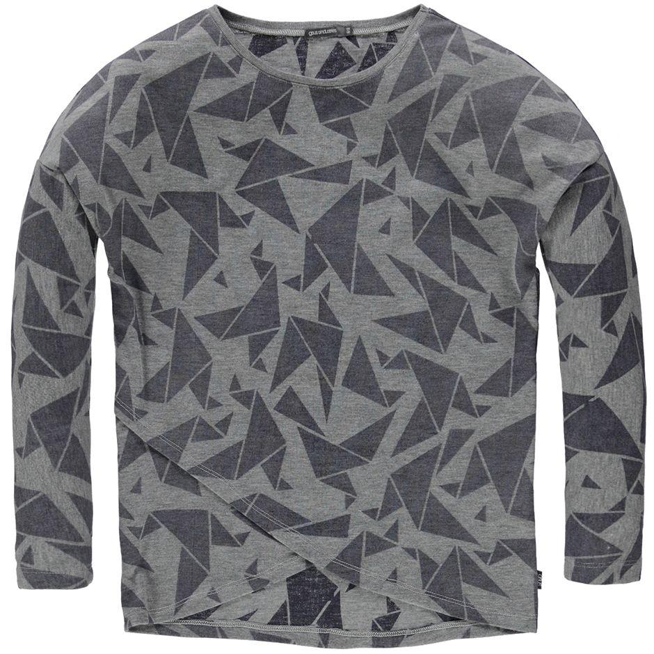 Reversed look longsleeve met grafische print > meisjes longsleeve shirt | gnus jr - AW 2015