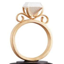 Diamond Ring Topper
