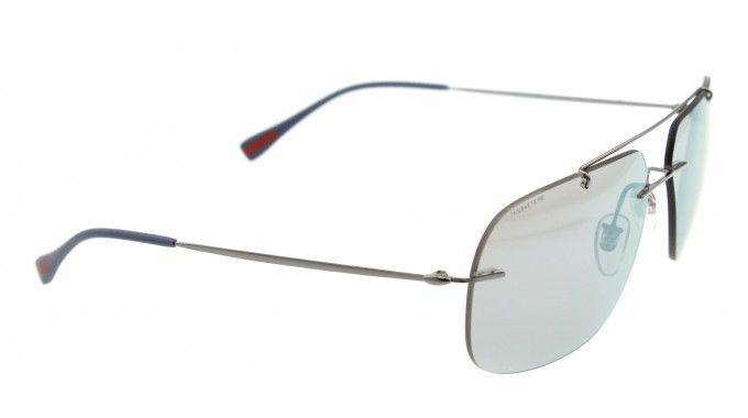 fede95db62 Prada Sunglasses Model  SPS 55P Color code  5AV-2E2 Color  GUNMETAL Lens  color  BLUE MIRRORED Frame Color  GUNMETAL Frame Material  MIX Size   60 14 140 ...