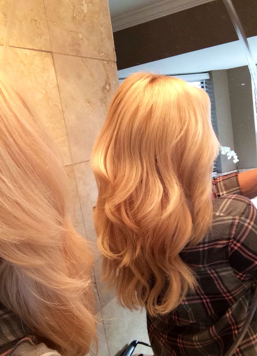 Fusion Hair Extensions Done At Home By Myself Vision Select Hair