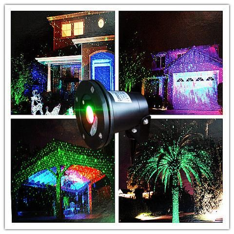 Remote Controllable Rgb Laser Outdoor Garden Landscape Light Red Green And B Outdoor Gardens Landscaping Laser Christmas Lights Laser Christmas Lights Outdoor