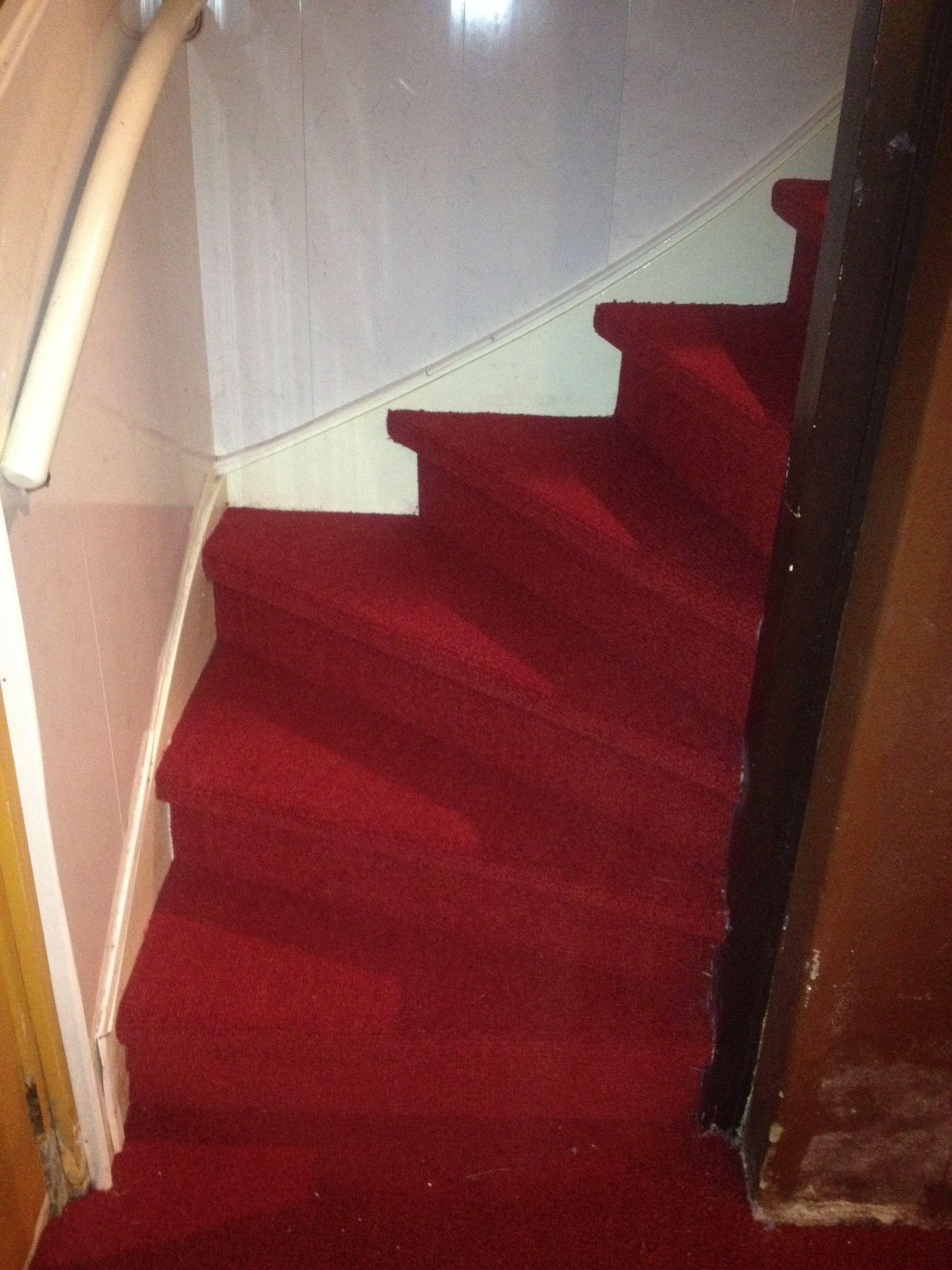 De trap zweert bij tapijt voordelen van tapijt op de trap
