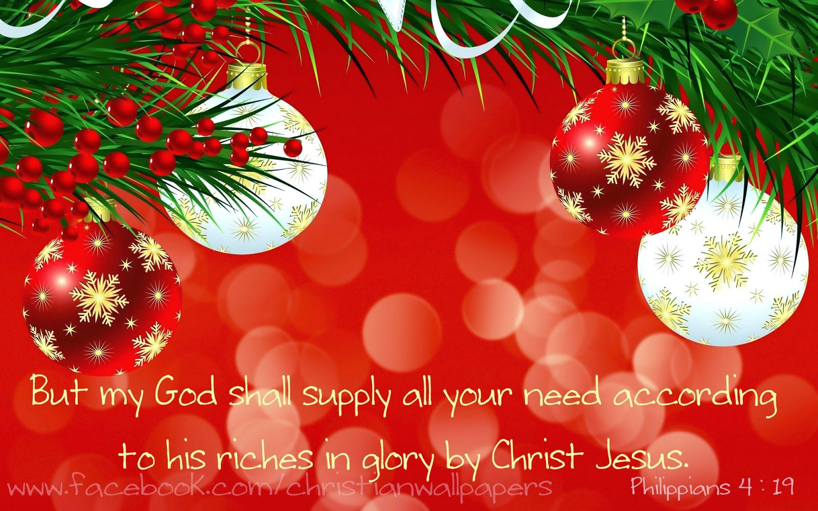 Download Hd Christmas New Year 2017 Bible Verse Greetings Card