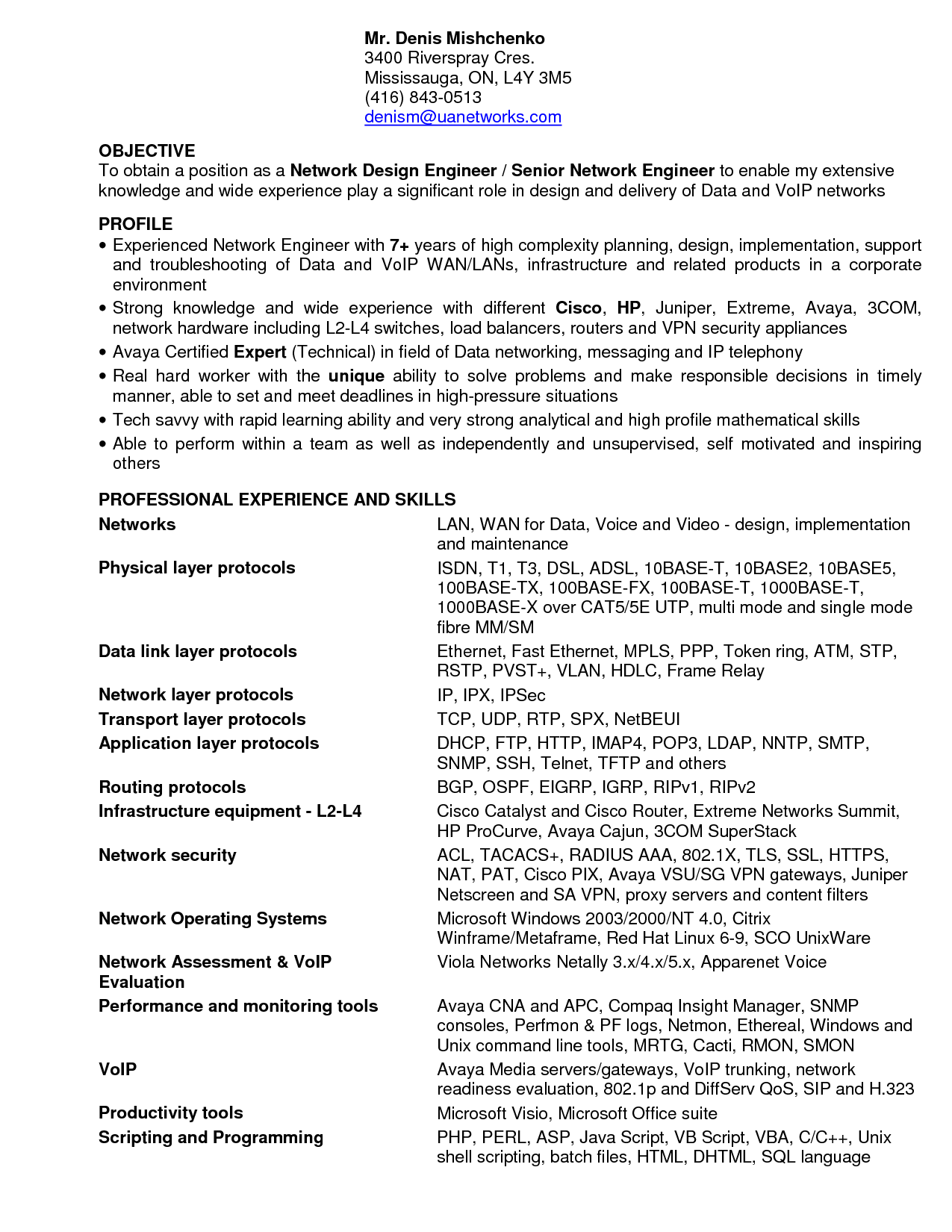 Entry Level Network Engineer Resume 28 Network Security Resume Sle Enernovva Org  News To Go 2 .